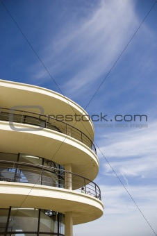Art-deco balcony
