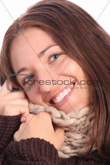 beautiful young a woman