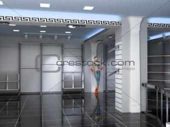 Modern Shop Interior