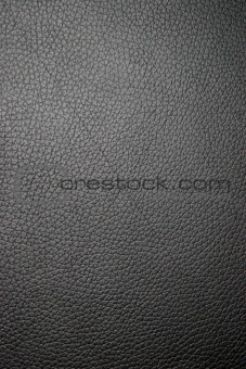 Black leather macro
