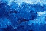 Blue oil painting background
