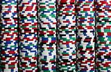 stacks of casino chips