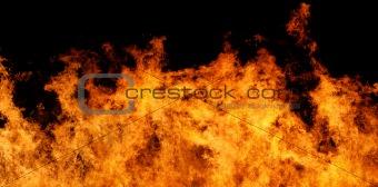 Fire panorama XXL file