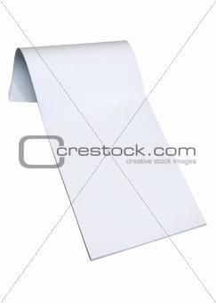 Blank notepad w/ path