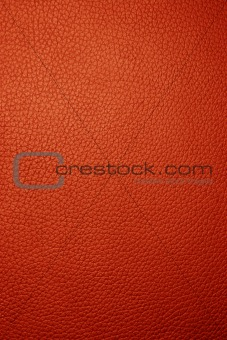 Red leather - Macro