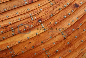 Wooden boat background