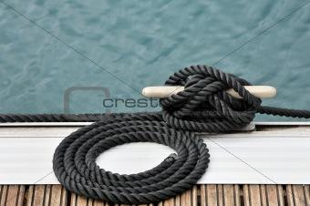 Rope and bitt