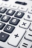 Calculator keyboard detail