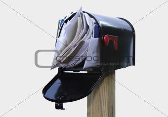 Over-stuffed Mail Box