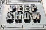 Peep Show Sign