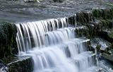 Blurred motion waterfall