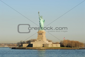 Statue of Liberty, on Liberty Island, New York