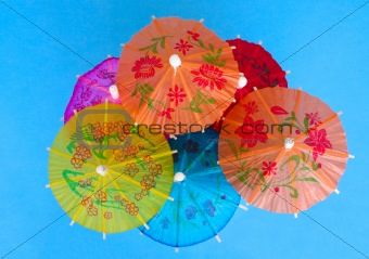 Asian cocktail umbrellas
