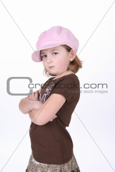 Arms Crossed cute girl