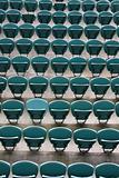 Empty Seating at Sports Stadium