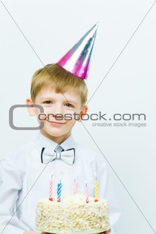 Child at birthday