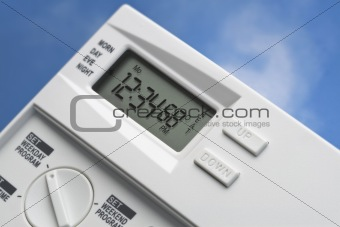 Sky Thermostat 68 Degrees Heat