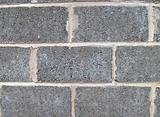 Breeze blocks in wall