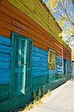 Exterior wall in La Boca Buenos Aires