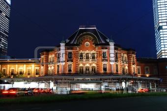 Tokyo JR station