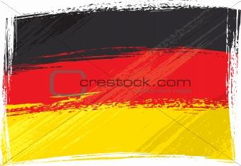 Grunge Germany flag