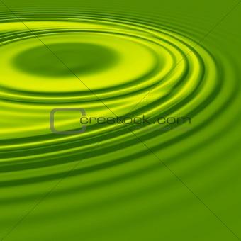 green yellow ripples