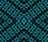binary blue kaleidoscope