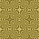 small golden retro swirls sl