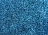 texture of blue cotton