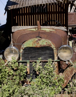 old school car