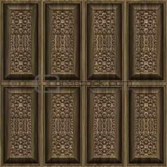carvbed wwood panels