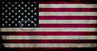Grunge Ameican flag