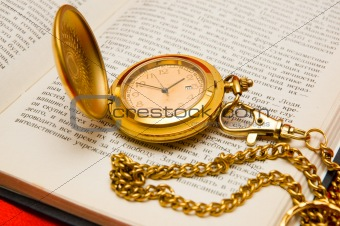 old watches and book