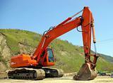 The Big excavator.