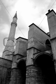 Aya sofia entrance, Istanbul, Turkey