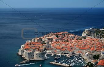 City of Dubrovnik, Croatia, Adriatic sea