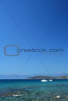 Beach on Aegean sea