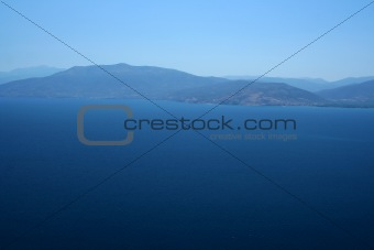 Aegean sea coast near Nafplio, Greece