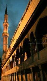 Blue mosque detail, Istanbul, Turkey