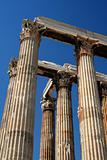Temple of Zeus pillars, Athens, Greece