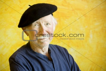 Artist with a Beret