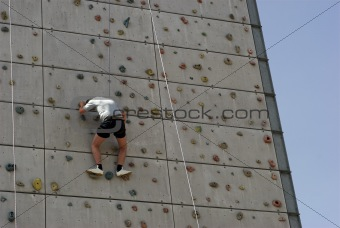 Climbing Up the Wall