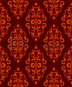 Ornamental wallpaper