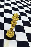 Golden Chess King