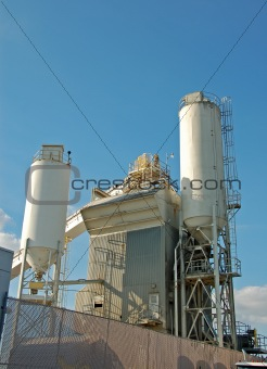 Cement plant industrial facility