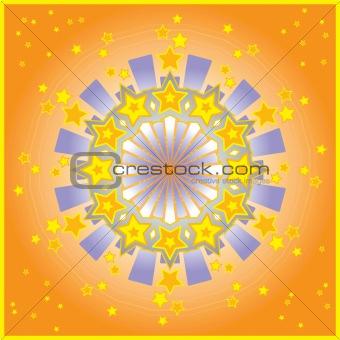 Glittery Stars