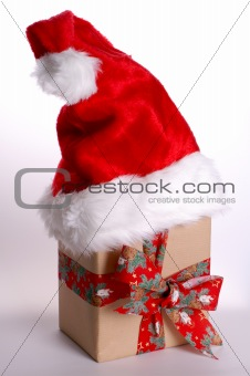 A package from Santa Claus