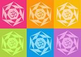 yoga yantras flowers
