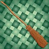 Halloween Witch Broom