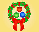 Christmas Ornaments - vector illustration